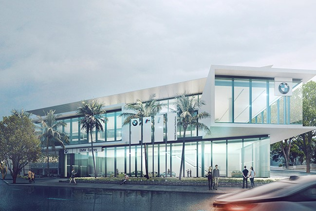 TAYLOR CONSTRUCTIONS – BMW FLAGSHIP, RUSHCUTTERS BAY